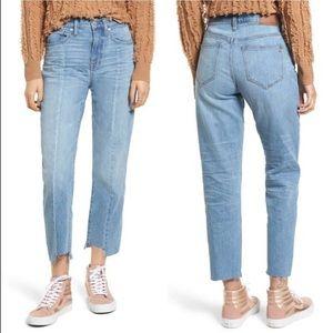 NWT Madewell cruiser straight high rise jeans 31
